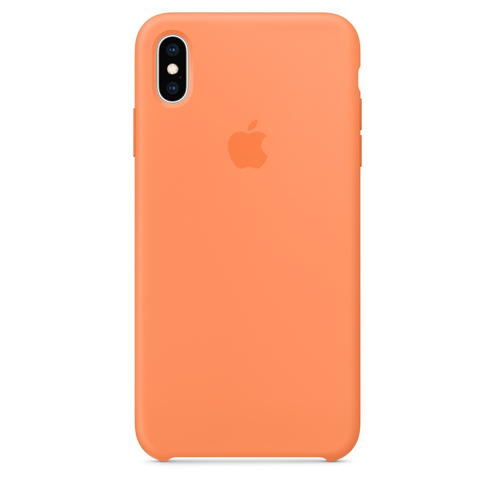 "SILICON CASE IPHONE XS/XS MAX ""PAPAYA"""