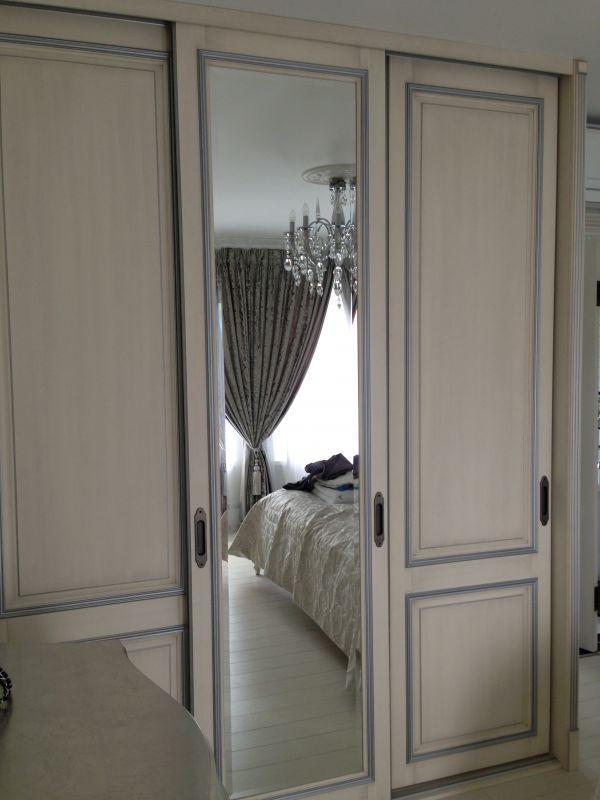 Фасады из дерева для шкафа в спальню от Modern-WF