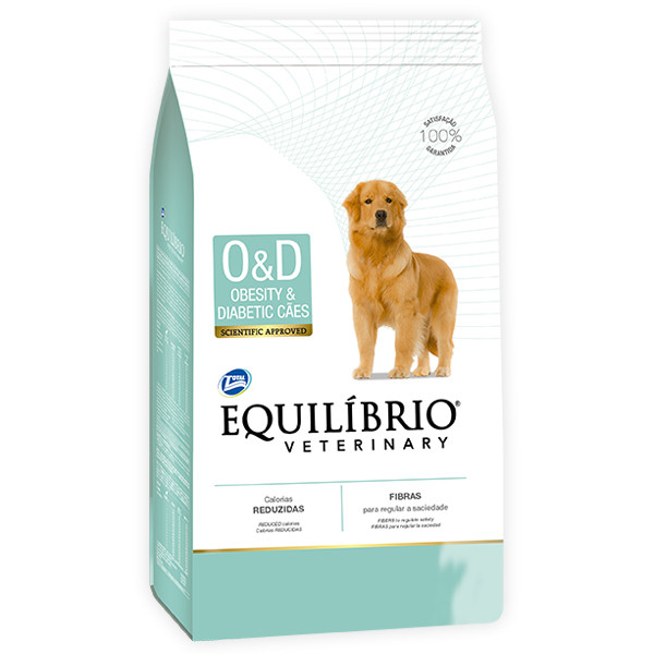 Equilibrio Veterinary Dog ОЖИРЕНИЕ ДИАБЕТ лечебный корм для собак , 2 кг.