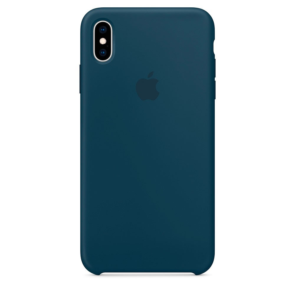 """SILICON CASE IPHONE XS/XS MAX """"PACIFIC GREEN"""""""
