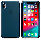 """SILICON CASE IPHONE XS/XS MAX """"PACIFIC GREEN"""", фото 2"""