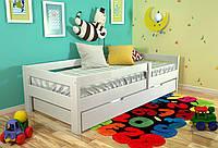 Кровать детская Arbor Drev Альф сосна 80х190, Белый