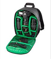 Універсальний фоторюкзак, Зелений, фото 1
