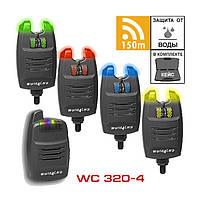 Набор сигнализаторов поклевки WC320 6+1