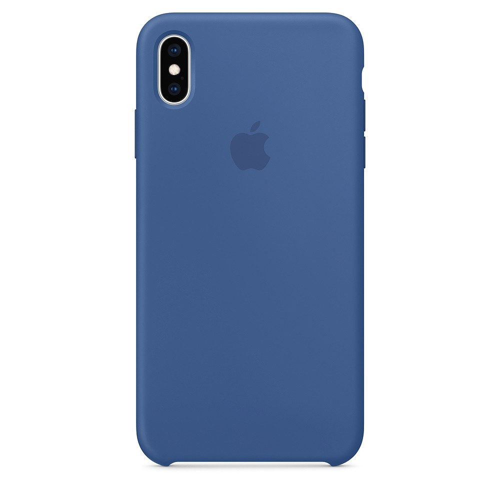 "SILICON CASE IPHONE XS/XS MAX ""DELFT BLUE"""