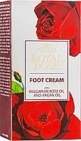 Крем для ног с маслом розы и аргана Royal Rose 75 мл