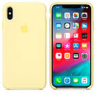 "SILICON CASE IPHONE XS/XS MAX ""MELLOW YELLOW"", фото 2"