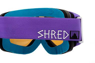 Маска гірськолижна Shred Tastic Gaper Purple, фото 3
