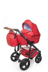 Детская коляска 2 в 1 Broco Capri Red