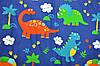 Утепленный плед (в коляску, в кроватку) Динозавры MagBaby, фото 6