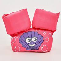 Жилет для плавания детский PL-0501 Розовый