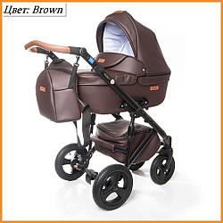 Детская коляска 2 в 1 Broco Capri Chocolate
