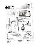 Переключатель газ/бензин для инжекторного автомобиля Tegas TE-IN, фото 2
