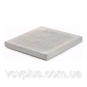 Пластикові форми для тротуарної плитки Печиво 300х300х30 Верес 1 шт, фото 2
