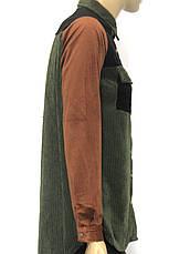 Стильна модна жіноча вельветова сорочка, фото 2