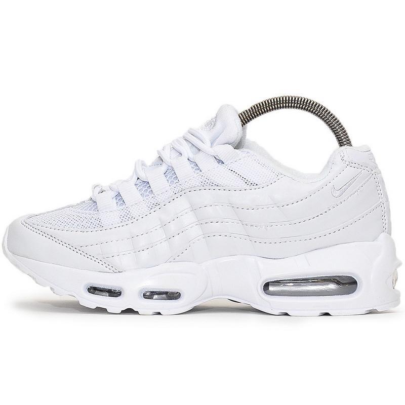 Кроссовки мужские Nike Air Max 95 (белые) Top replic
