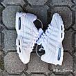 Кроссовки мужские Nike Air Max 95 (белые) Top replic, фото 2