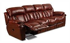 Четырехместный диван Бостон с реклайнером, мягкий диван, фото 2