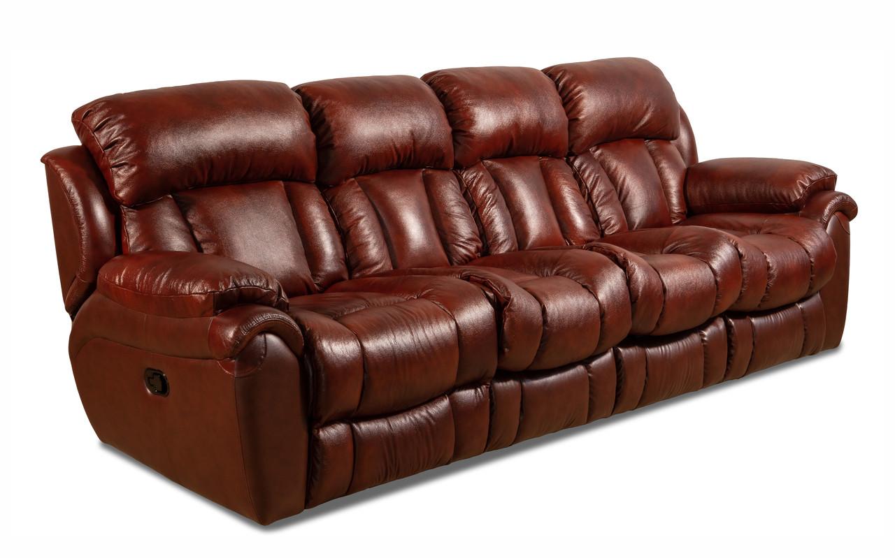 Четырехместный диван Бостон с реклайнером, мягкий диван