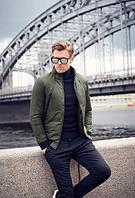 Мужской Бомбер (куртка) зима смнтепон 200  S,M,L,XL, фото 1
