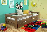Кровать детская Arbor Drev Альф бук 80х190, Орех