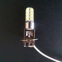 Светодиодная лампа H3 LED (цена указана за 1 шт)противотуманка H3 LED 16 SMD 3030 SilcaGel 12-24V