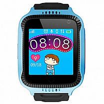 Детские умные часы Smart Baby Watch G900A с GPS синие