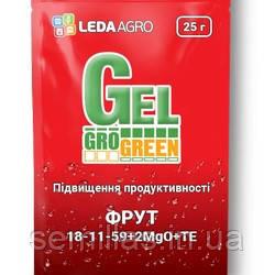 "Гель-удобрение Фрут (18-11-59+2MgO+TE), 25 гр., ТМ ""Леда-Агро"""