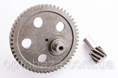 Шестерня большая + малая (145 мм х 20/32 мм) для вибротрамбовки 6.5 л.с.