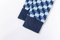 Классические длинные мужские носки клетчатые, фото 5
