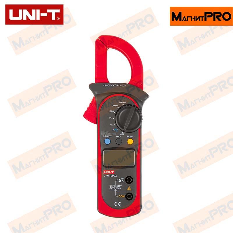 Токоизмерительные клещи UNI-T UTM 1202A (UT202A)