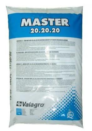 Купить Комплексное удобрение Master (Мастер) 20.20.20, 10 кг, Valagro