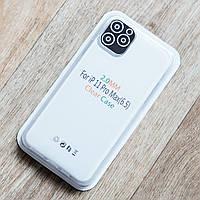 Прозрачный силиконовый чехол для Apple iPhone 11 Pro Max (2 мм)