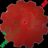 Диск ромашка Ø=660 мм, h=7 мм, квадр. 41 Gregoire Besson (Bellota), 851001198 (XM7-1903-26MC41)