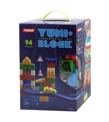 """Конструктор дитячий """"YUNI-BLOK"""" 94 (коробка) 1436"""