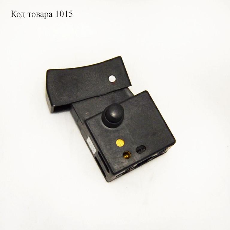 Кнопка 12А DK2P6-22 для болгарки Stern 180 Q (косая)