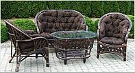 Комплект плетеной мебели из ротанга Casablanka brown!