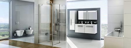 Шафки і дзеркала д/ванних кімнатChrome