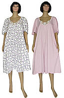 NEW! Женские классические ночные рубашки с кружевом в размерах Батал - 66-68 - от ТМ УКРТРИКОТАЖ!