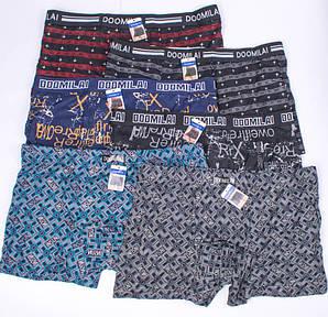 Мужские боксеры бамбук Doomilai D01212,01214,01301-1 XL. 46-48. В упаковке 6 трусов