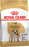 Сухой корм Royal Canin Bulldog Adult для собак, 12КГ
