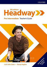 New Headway 5th Edition Pre-Intermediate Teacher's Guide with Teacher's Resource Center / книга для учителя