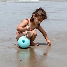 Сферичне відро Quut Mini Ballo (блакитний+зелений) (171188), фото 3