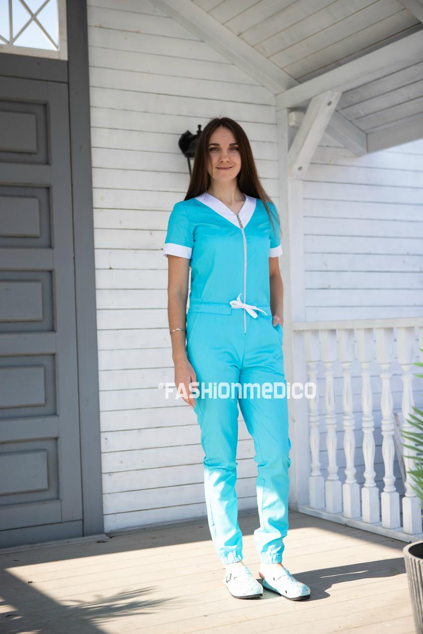 """Жіночий медичний комбінезон """"Алтей"""""""