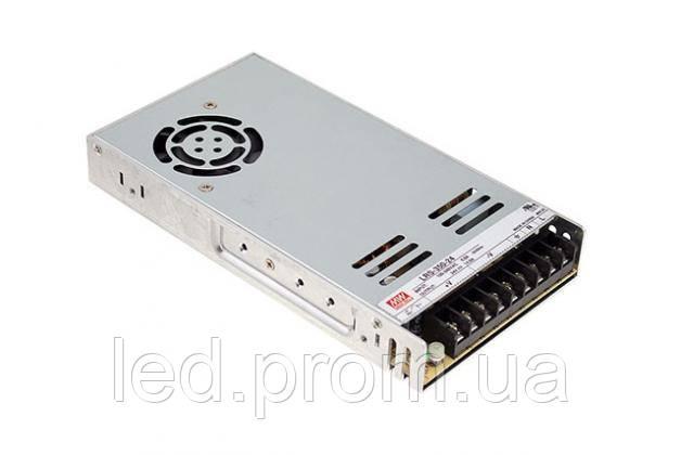 Блок питания Mean Well 350.4W DC48V IP20 (LRS-350-48)