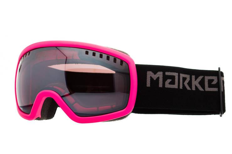 Маска гірськолижна дитяча Marker Surround Mirror S Pink, фото 2