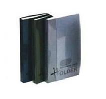 Визитница Economix на 128 визиток с впаянными файлами, пластиковая