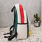 Молодёжный рюкзак набор 3 в1 с жёлтыми уточками., фото 6