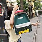 Молодёжный рюкзак набор 3 в1 с жёлтыми уточками., фото 5