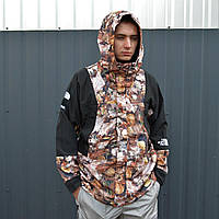 Куртка The North Face x Supreme Leaves mod